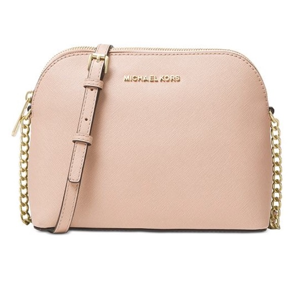 725414c067f8 MICHAEL Michael Kors Bags | Michael Kors Soft Pink Cindy Dome ...